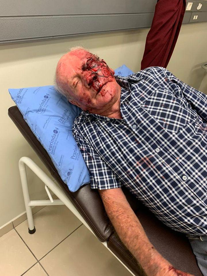 Robbery gang terrorising Okahandja residents elderly couple hospital Windhoek