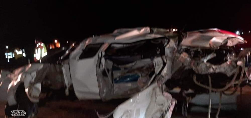 Two perish Langstrand accident car crash Swakopmund Walvis Bay