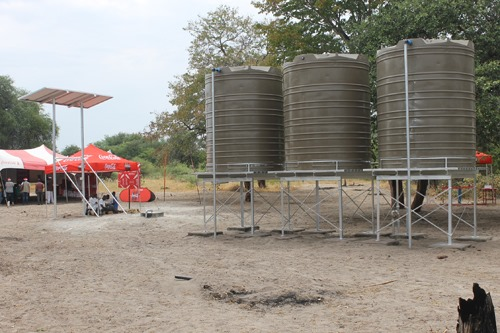 Water projects Omaheke provision projects Region Drought Relief Programme