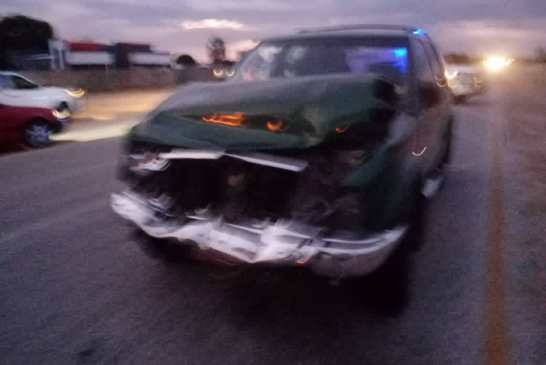Former governor involved in pile-up crash
