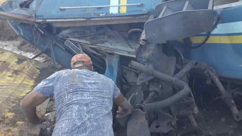 Missing train accident survivor found reported Namibia safe Keetmanshoop