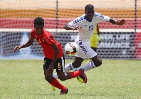Namibia Mozambique final match COSAFA Qualifiers U-20 AFCON tournament