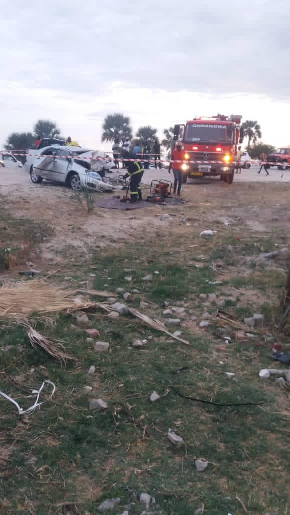 Teofelus Kapewangolo Niinkoti dead horrific car crash Oniihandi Village