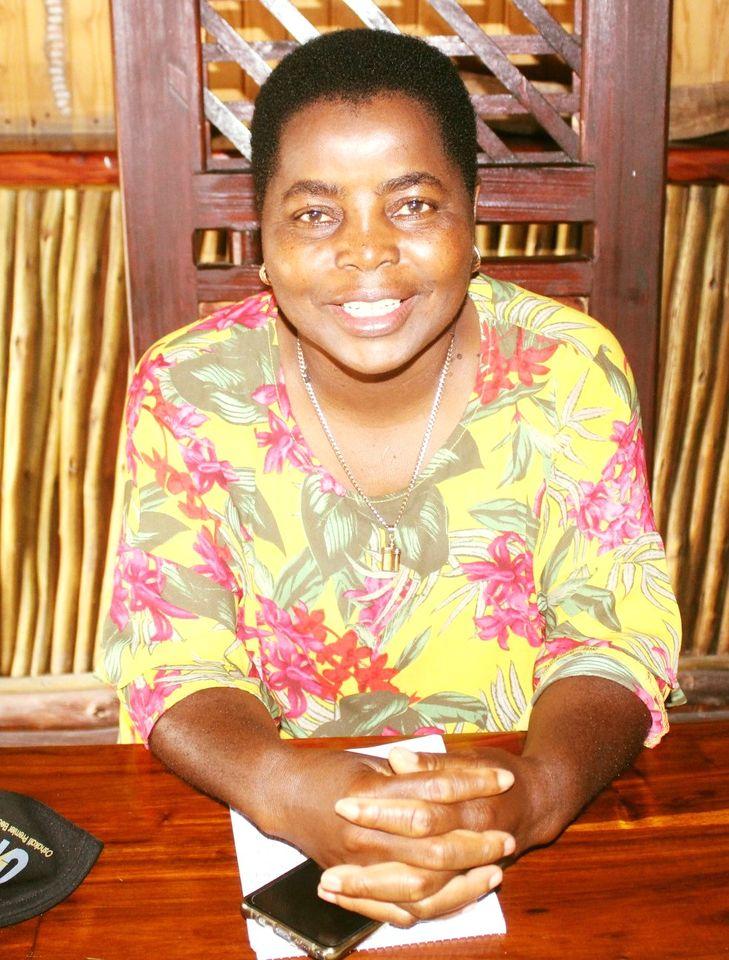 Oshakati town councillor chairperson municipal management committee Katrina Shimbulu