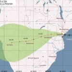 Tropical storm heading straight for Namibia