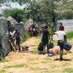Okongo learners living in shacks