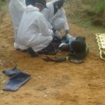 One robber killed two others wounded