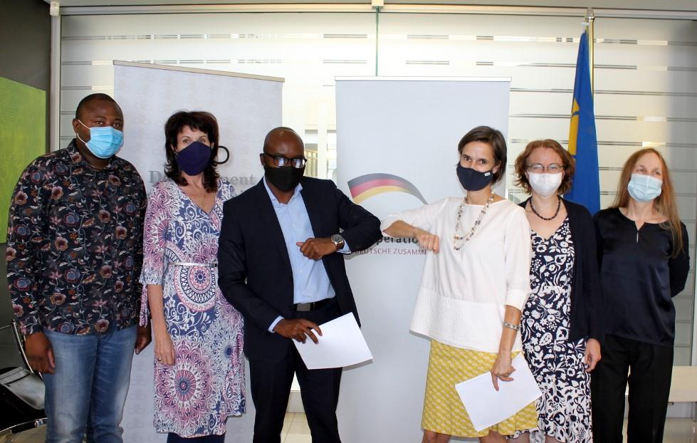 Development Bank Namibia DBN Germany KfW loan finance SME COVID-19 pandemic