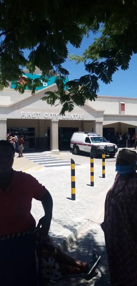 School principal passes away FNB Theophilus Taati Shipahu Ekamba died waiting queue main branch First National Bank Ondangwa