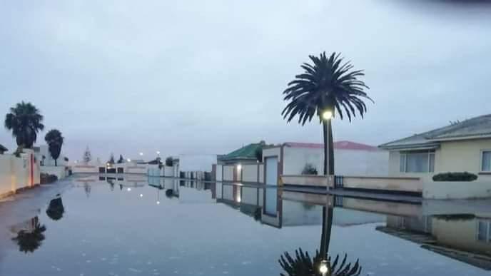 Walvis Bay rain flooded streets
