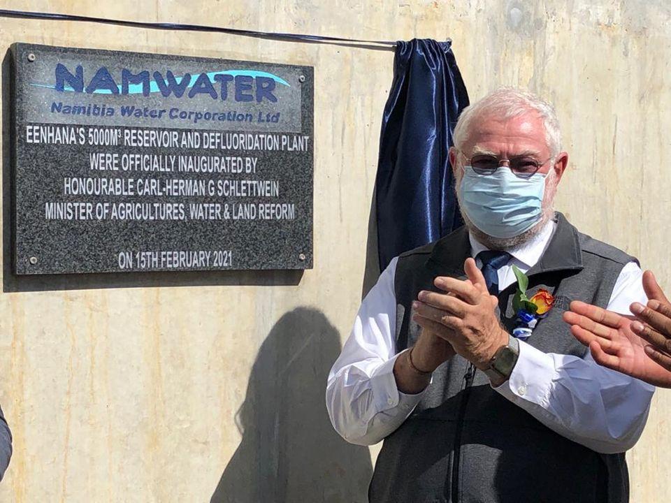 Eenhana independent water supply Oshakati supply boreholes drilled Ohangwena Aquifer