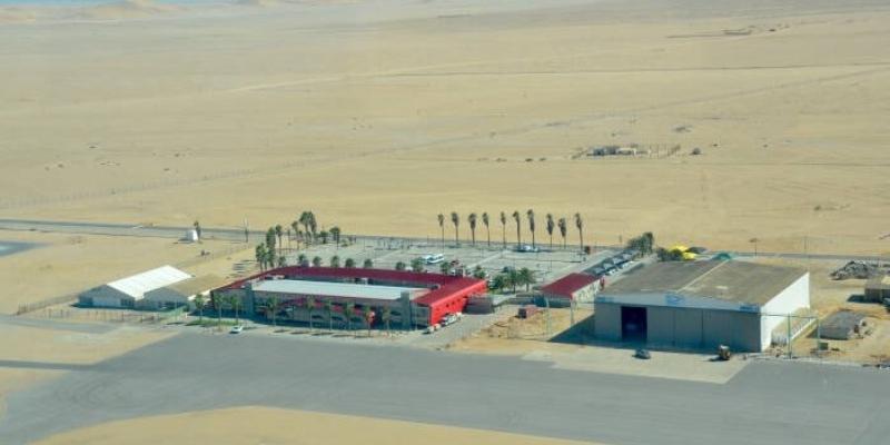 Namibian airports safety hazards aids Namibia state disrepair domestic international flights