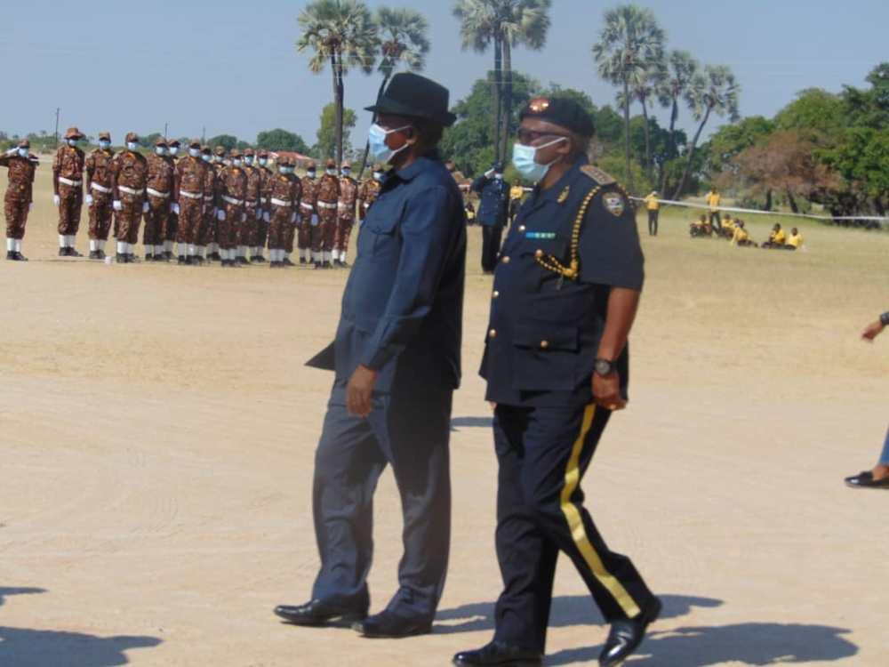 Angolan drought refugees assisted Namibian Government humanitarian country Angola