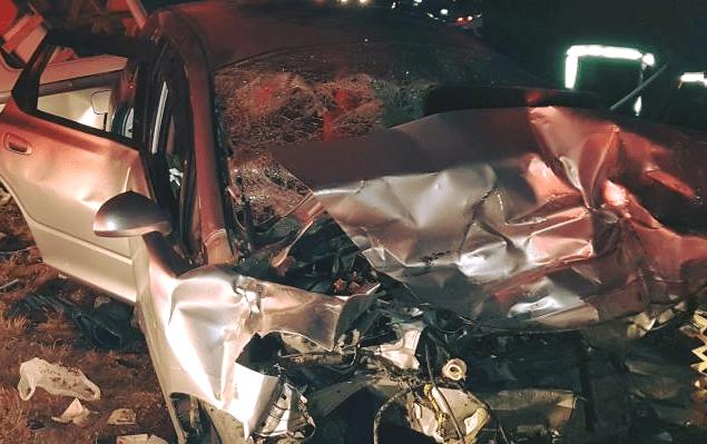 dead five hospitalised car crash people Oshakati-Okahao Otuwala village