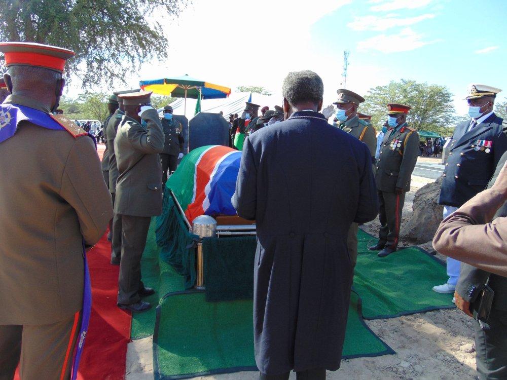 Ndeshipanda Kashea Saturday buried Omugulugwombashe Memorial Shrine Omusati