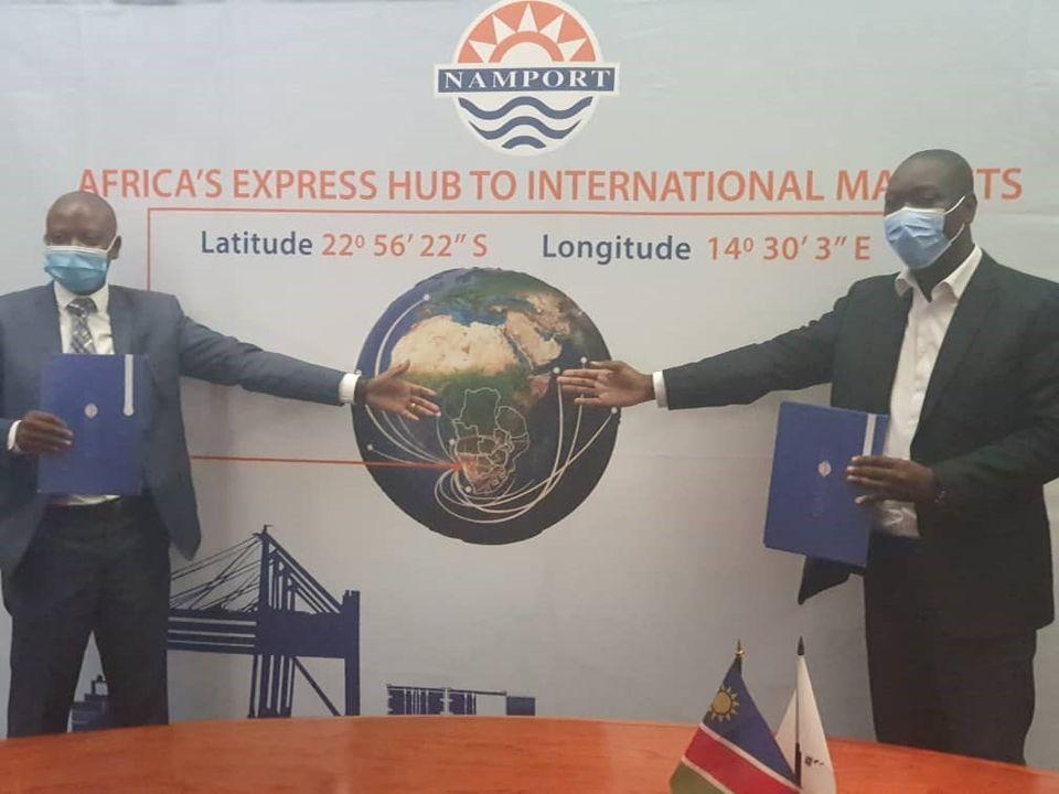 Namport MeatCo Namibian Ports Authority secure cargo Namibia harbour ports