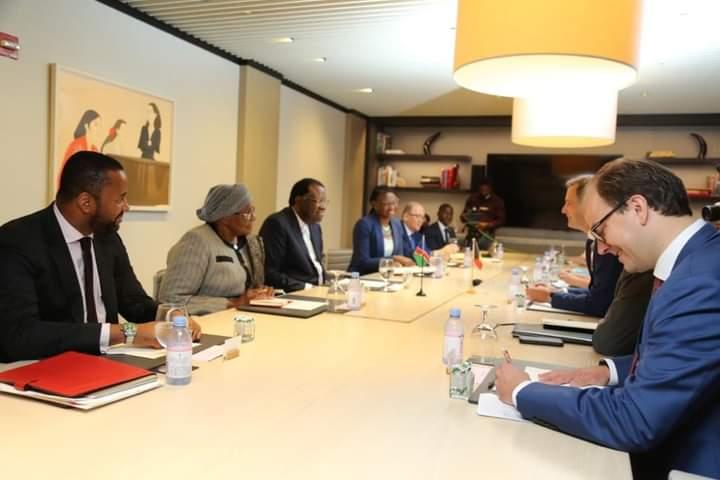 Namibia trade NAMIBIAN President Hage Geingob Prime Minister Kingdom Belgium Alexander de Croo bilateral investment