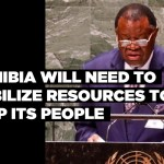 Namibia will need to mobilize resources to help its people