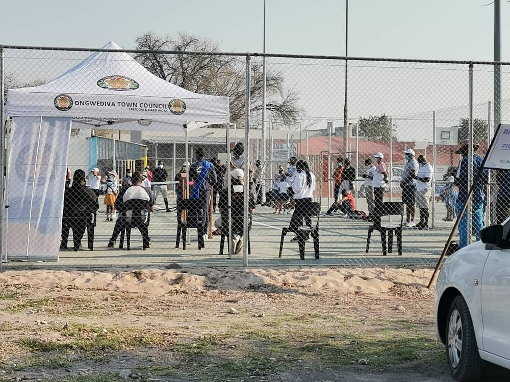 REOPENED: The Ongwediva Tennis Court officially reopened to the public today.
