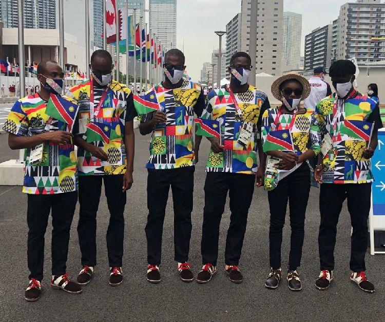 Namibia medals Tokyo Paralympics Games Hosea Kutako International Airport