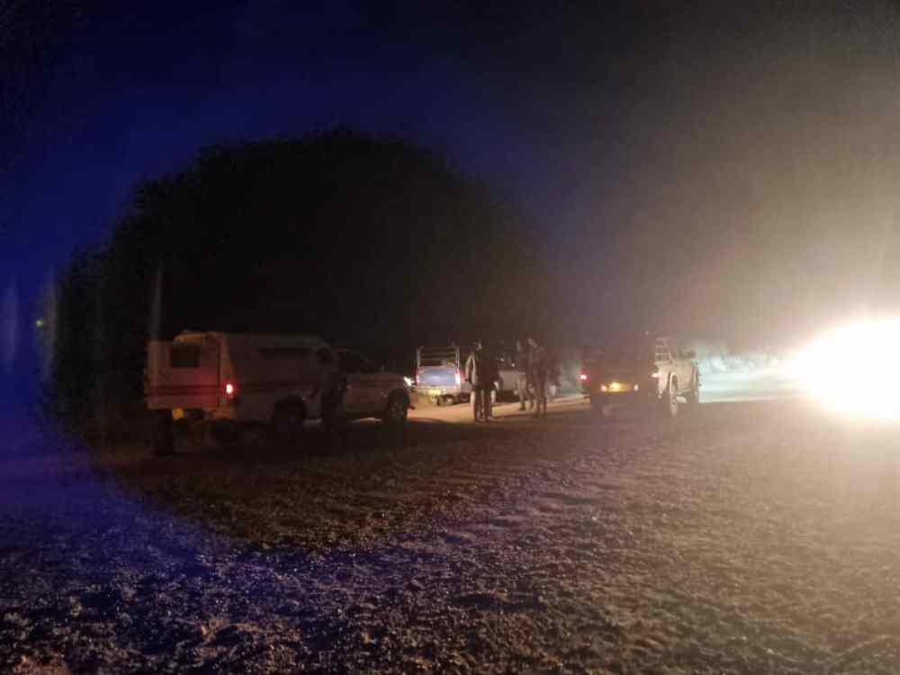 police officer arrested farm Lunenburg Mariental Hardap stolen sheep carcasses