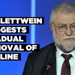 Schlettwein suggests gradual removal of redline
