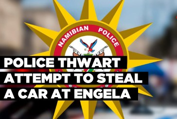Police thwart attempt to steal a car at Engela