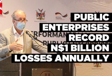 Public Enterprises record N$1 billion losses annually