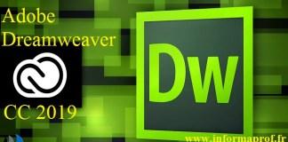 Télécharger Adobe Dreamweaver CC 2019