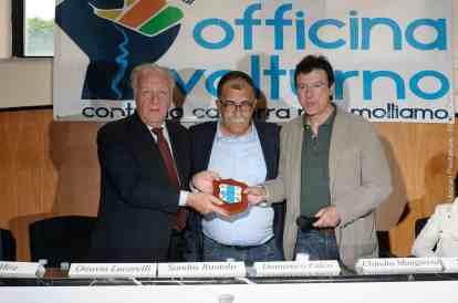Da sx: Mimmo Falco, Sandro Ruotolo e Ottavio Lucarelli - Photo credit Antonio Ocone