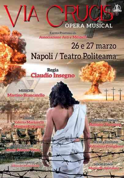 "Locandina - Opera Musical ""Via Crucis"""