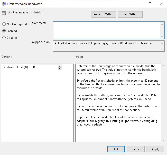 Limit-reservable-bandwidth-gpedit-setting