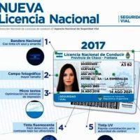 Cómo será la nueva licencia de conducir