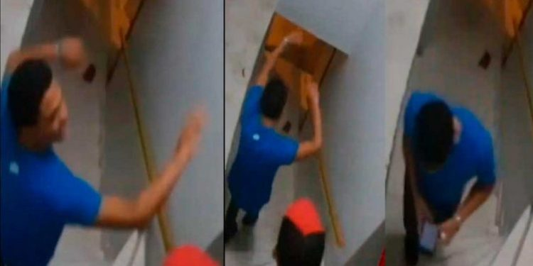 Aparece nuevo video con personaje clave en el descuartizamiento de los dos jóvenes en hostal
