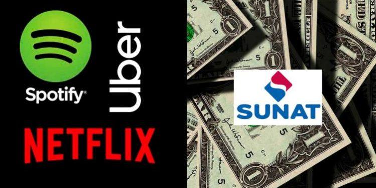 Esto recaudaría Sunat al año si cobrara impuestos a Netflix, Uber y Spotify