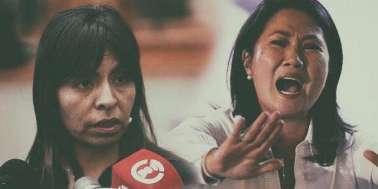 """Giuliana Loza afirma que evolución de Keiko Fujimori """"no es favorable"""""""
