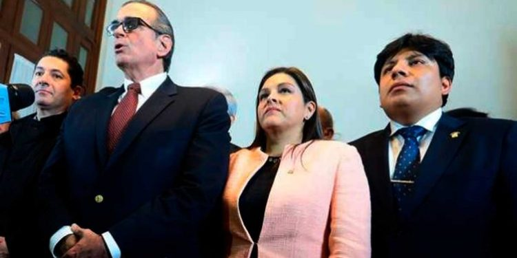 Pedro Olaechea denunciará ante la Fiscalía espionaje contra de los congresistas