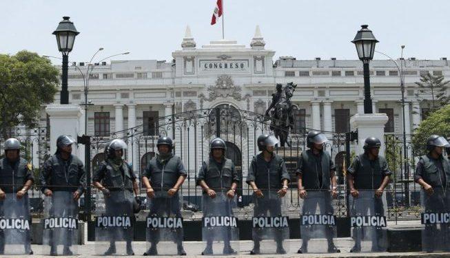 Seguridad del Estado en alerta máxima ante posibles disturbios en el Congreso