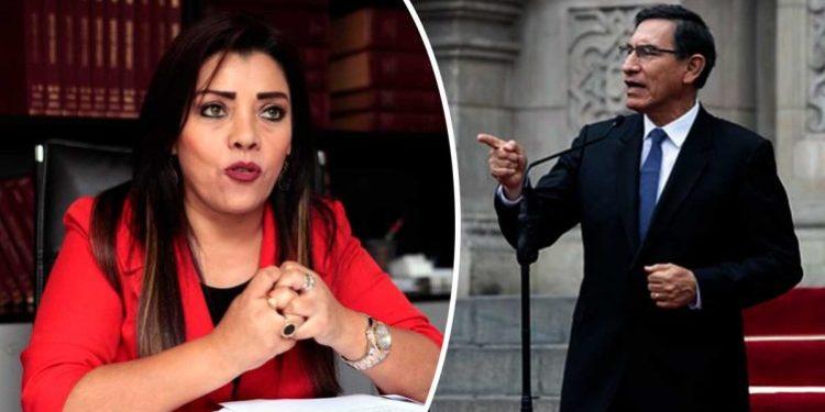 """Alejandra Aramayo a Vizcarra: """"Presidente renuncie, es más barato para la patria"""""""