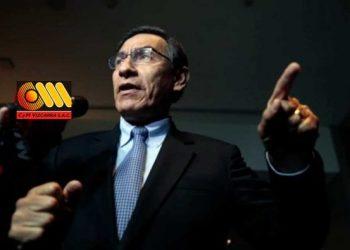 """Vizcarra: """"Tenemos que hacer una cruzada los peruanos para combatir la corrupción"""""""