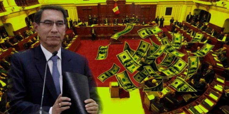 Congresista habría pedido a Vizcarra que se les pague todo por adelantado para que se vayan