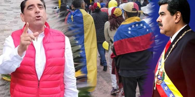 """Carlos Álvarez: """"Nosotros no elegimos a Maduro, ese problema es de los venezolanos"""""""