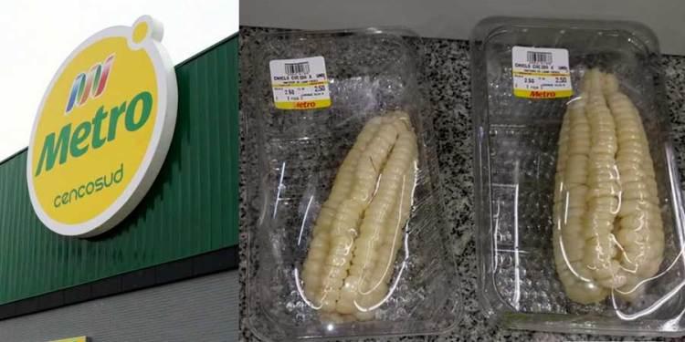 Supermercados Metro te cobra por las bolsas pero sigue envasando alimentos en plásticos
