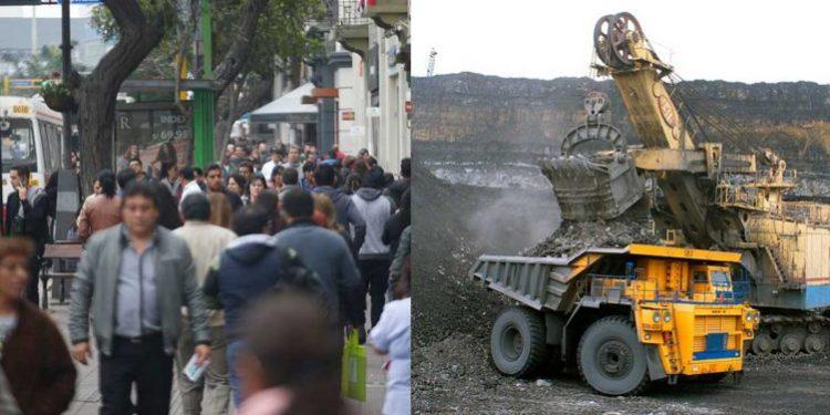 peruanos a favor de la minería