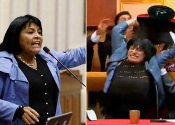 Carlos Álvarez imita a excongresista fujimorista que quiso pelearse con colega en la calle
