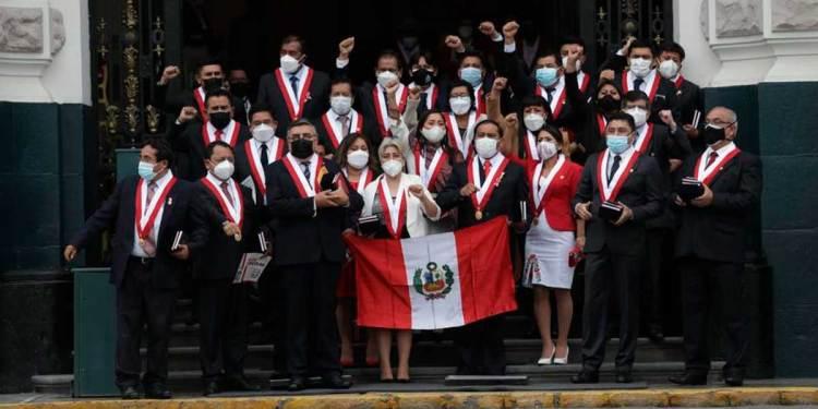 Foto: Congresistas de Perú Libre