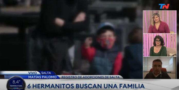 6 hermanitos que buscan familia