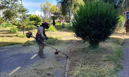 15 hectáreas de áreas verdes intervenidas en Quito