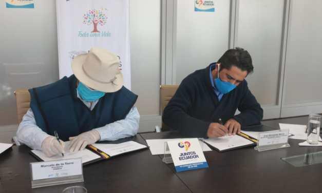 Se formaliza cooperación interinstitucional con Federación de Cámaras Artesanales