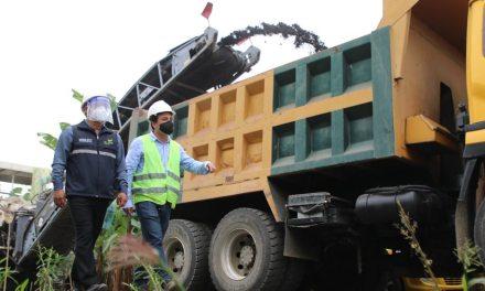 Prefectura de El Oro puso en marcha obra en la vía a Pajonal